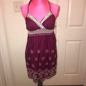 Adorable purple babydoll dress